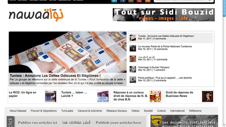"""Das Blog """"Nawaat"""": Ausgezeichnet für Berichterstattung über Massenproteste in Tunesien"""