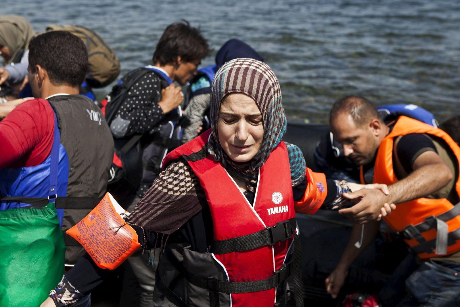 syrien flüchtlinge