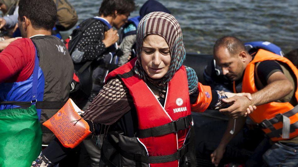 Syrischer Flüchtling (in Griechenland): Schon bald auch Asyl in Großbritannien