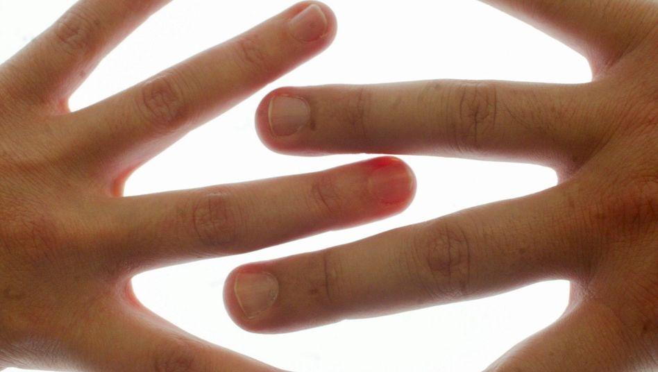 Männerhände: Antwort auf die Frage nach der eigenen Anziehungskraft