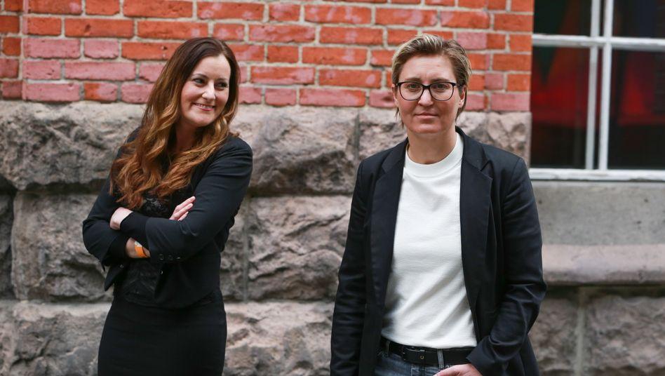 Die neuen Vorsitzenden der Linken: Janine Wissler und Susanne Hennig-Wellsow