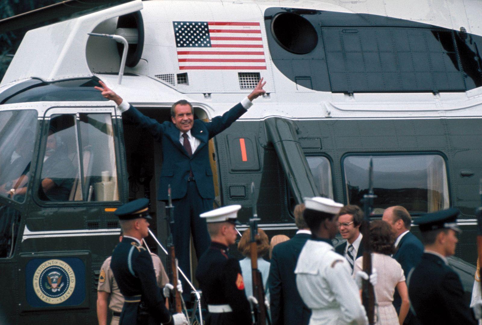 EINMALIGE VERWENDUNG Richard Nixon/ USA