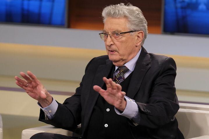 "FDP-Politiker Gerhart Baum: ""Parteiinteressen hinter Landesinteressen"""