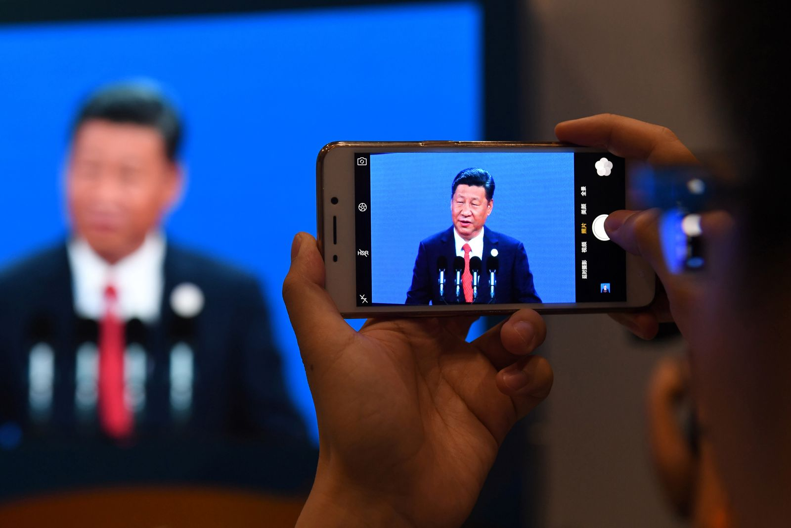 China / Xi Jinping / Internet / Handy