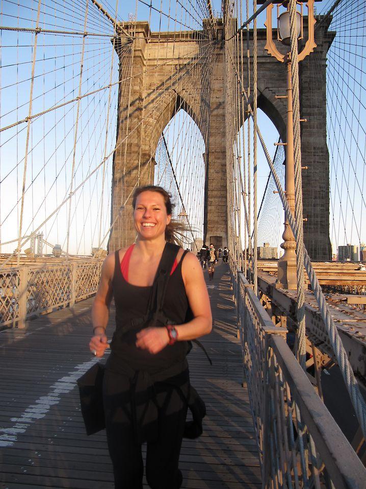 """Fitness in New York: Ariane Hundt hat das erfolgreiche """"Bootcamp"""" ins Leben gerufen."""