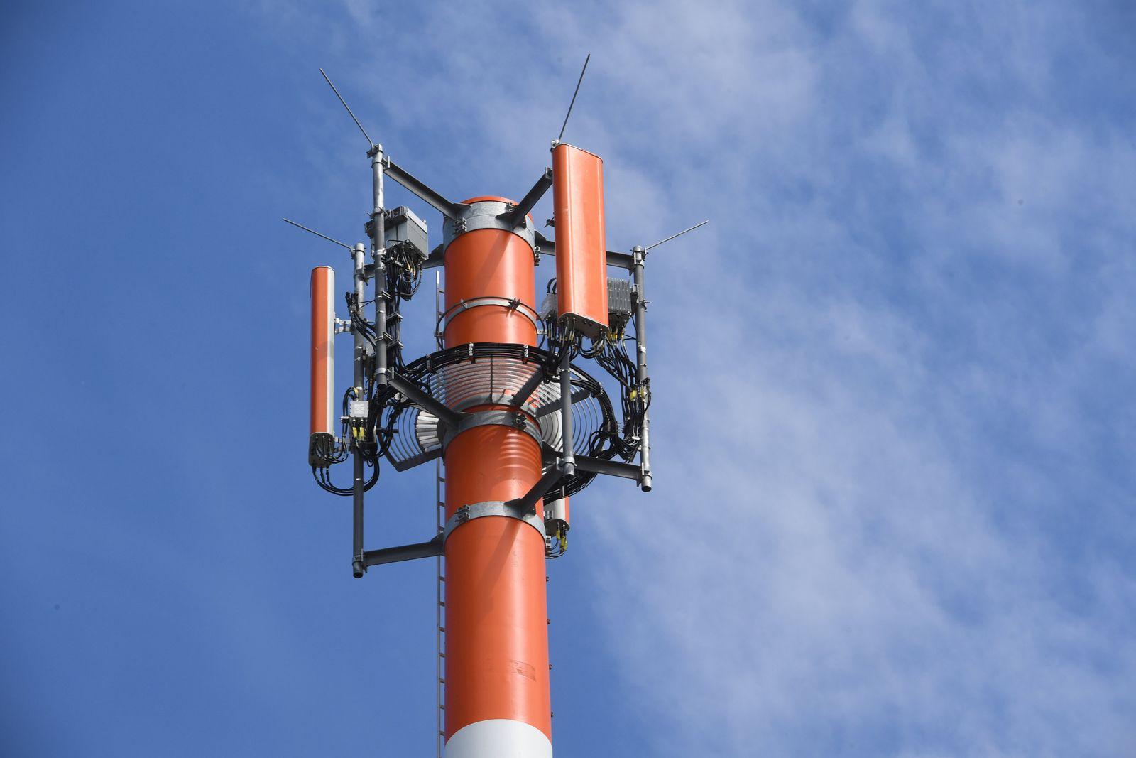 Sendemast für den Mobilfunk
