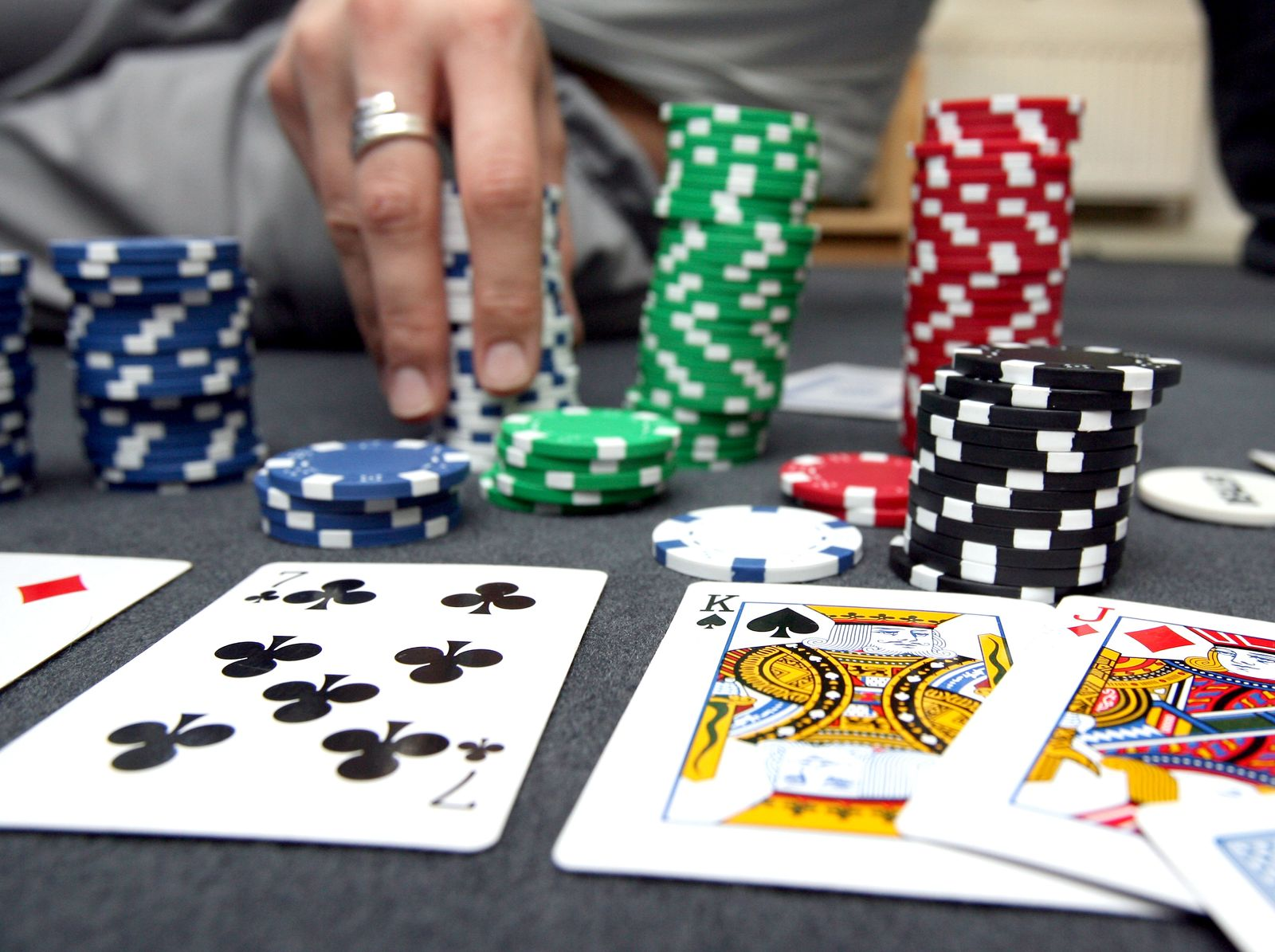 Glücksspiel/ Poker