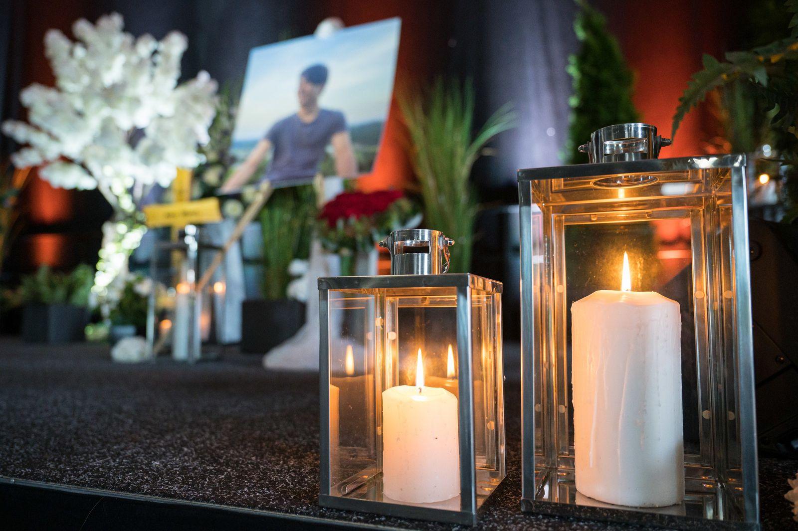 Gedenken an getöteten Tankstellen-Mitarbeiter