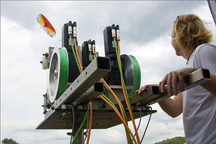Drachen-Kraftwerk: Kreativ-Boom in der Ökoszene