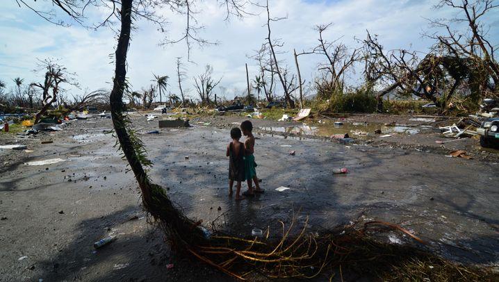 """Taifun """"Haiyan"""": Not und Zerstörung auf den Philippinen"""