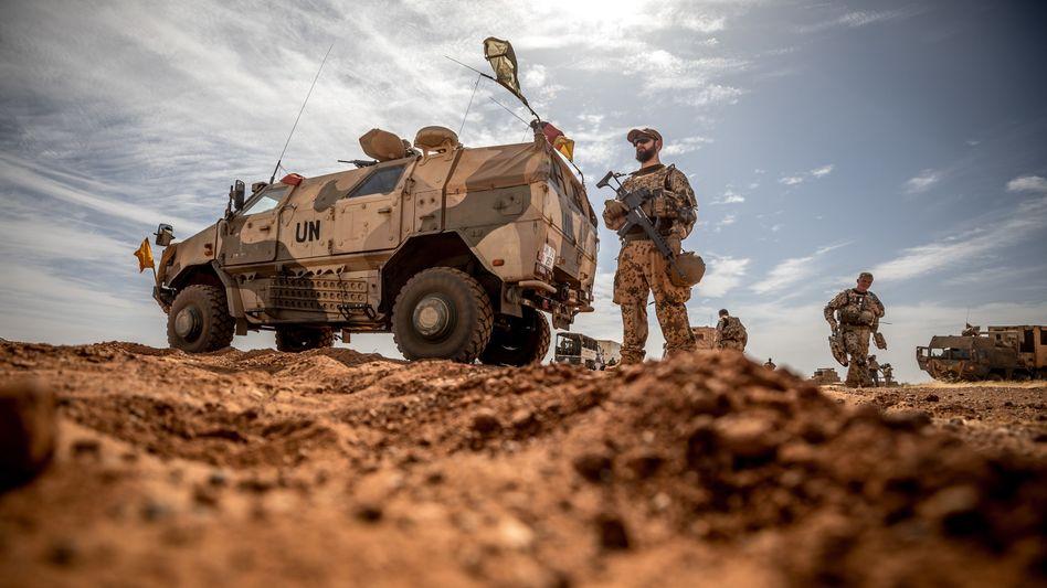 Einsatzkräfte der Bundeswehr in Mali (Foto von 2018)