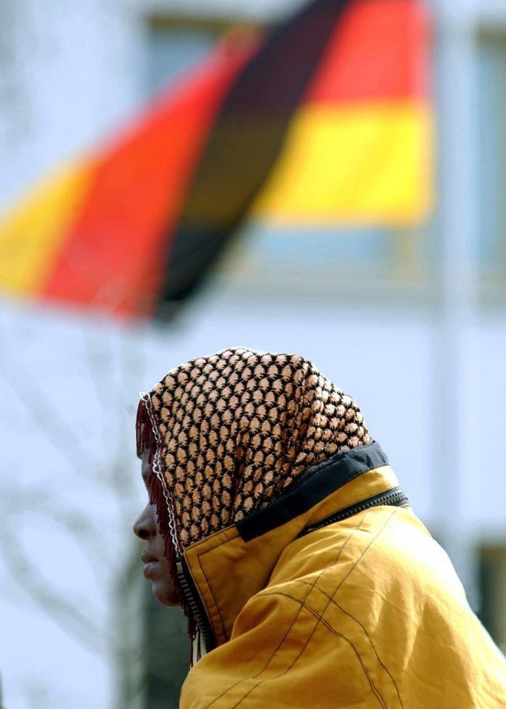 Asylbewerberin in Horst bei Boizenburg: Die Kosten sind gesunken