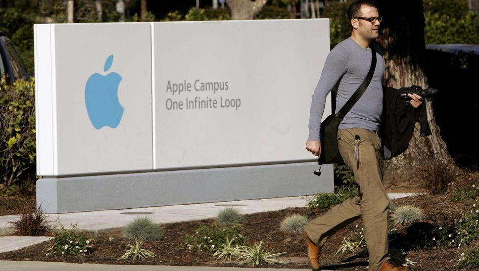 Apple-Campus: Die Firma soll mit Konkurrenten Nicht-Abwerbe-Abkommen vereinbart haben