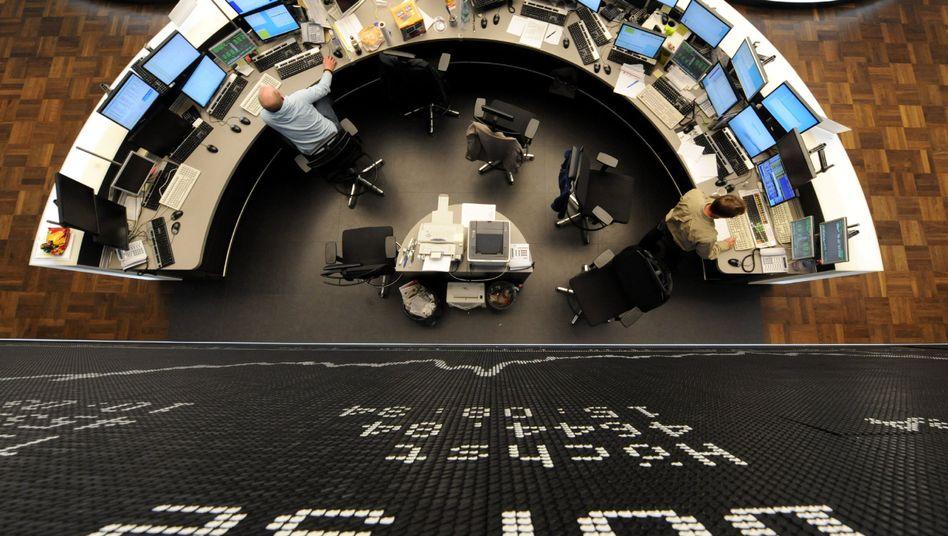 Frankfurter Börse: Bank-Aktien haben in den vergangenen Tagen deutlich verloren