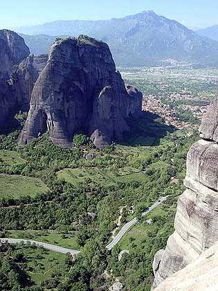 Meteora-Landschaft im Norden Griechenlands