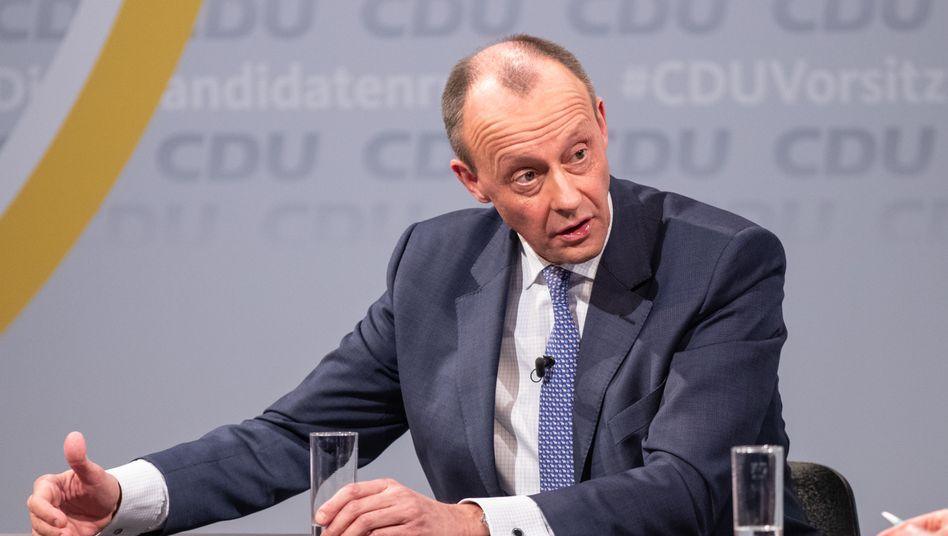 Friedrich Merz will am Wochenende die CDU-Führung übernehmen
