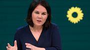 Statement von Grünen-Kanzlerkandidatin Baerbock