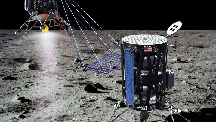 Unbemannte Nasa-Raumschiffe: Drei Lander für den Mond
