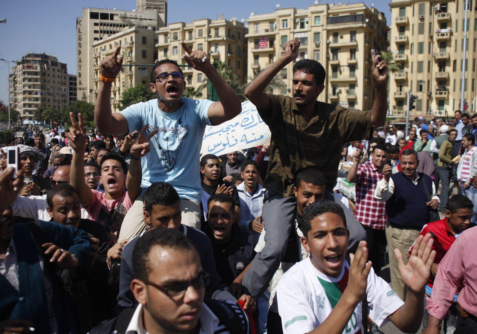 Tahrir Platz Demo