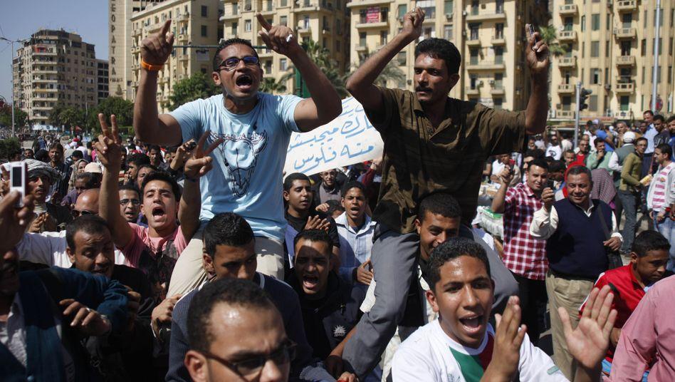 Proteste auf dem Tahrir-Platz in Kairo: Ägypten kommt nicht zur Ruhe