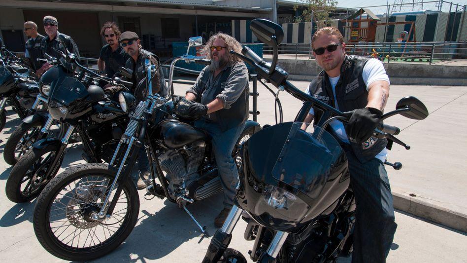Szene aus »Sons of Anarchy«: Keine iPhones an den Harleys - und das ist gut so