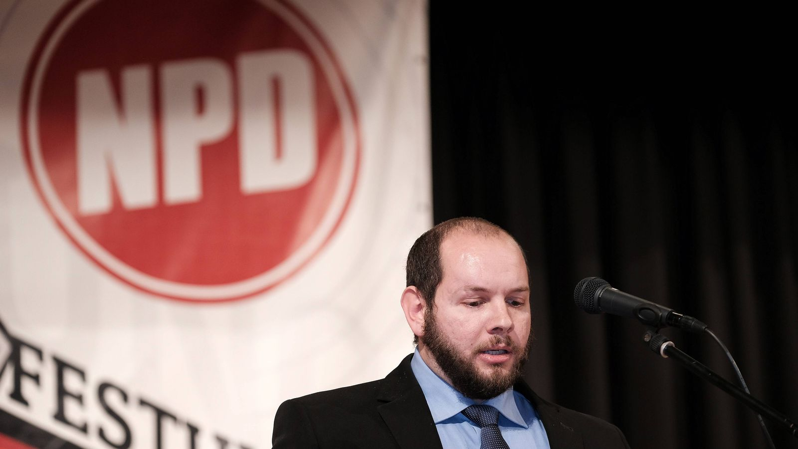 EINMALIGE VERWENDUNG Stefan Jagsch/ NPD/ Hessen