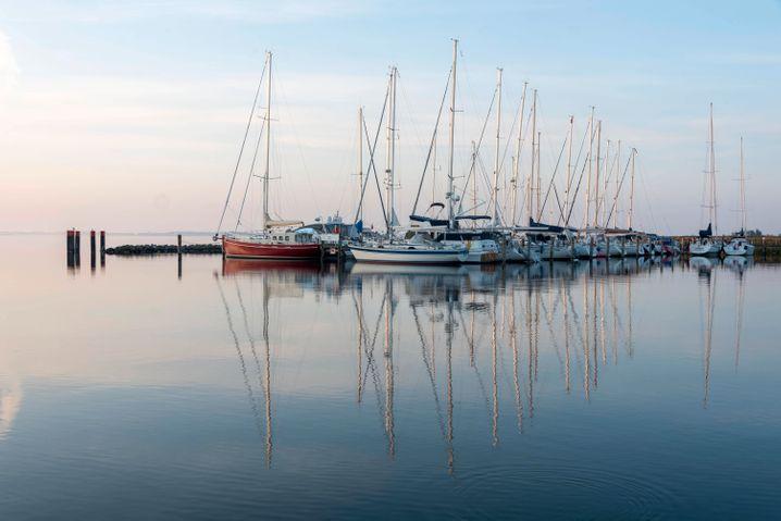 Segelboote in Kloster: Sieben Monate waren die Hiddenseer unter sich
