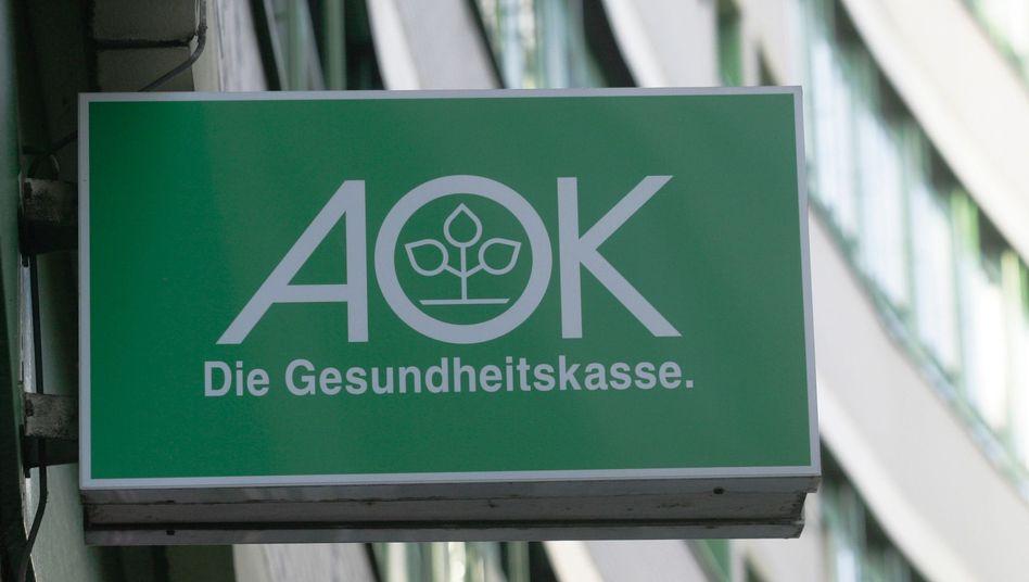 AOK-Niederlassung in Berlin: 110 Millionen Euro Verlust