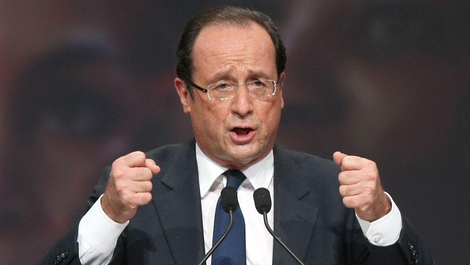 """Kandidat Hollande: """"Merkel entscheidet nicht im Namen aller Europäer"""""""