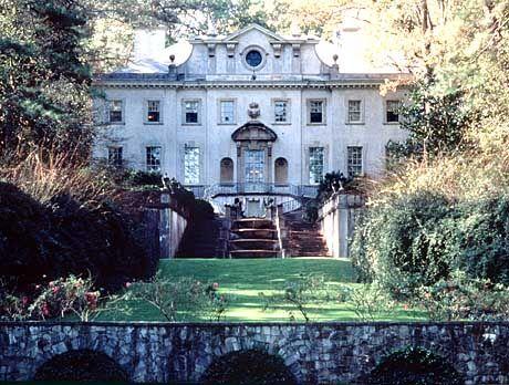 Nachgebaute Pracht: Das Swan House, das zum Geschichtszentrum Atlantas gehört, erinnert an die Zeit der reichen Plantagenbesitzer