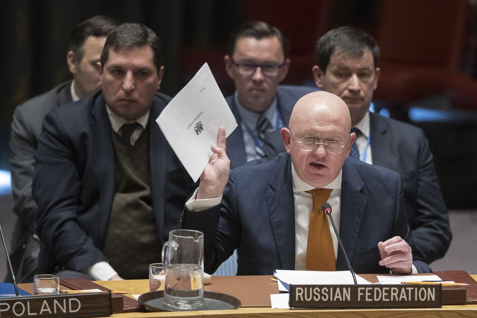 UN-Sicherheitsrat zu Giftanschlag auf Skripal