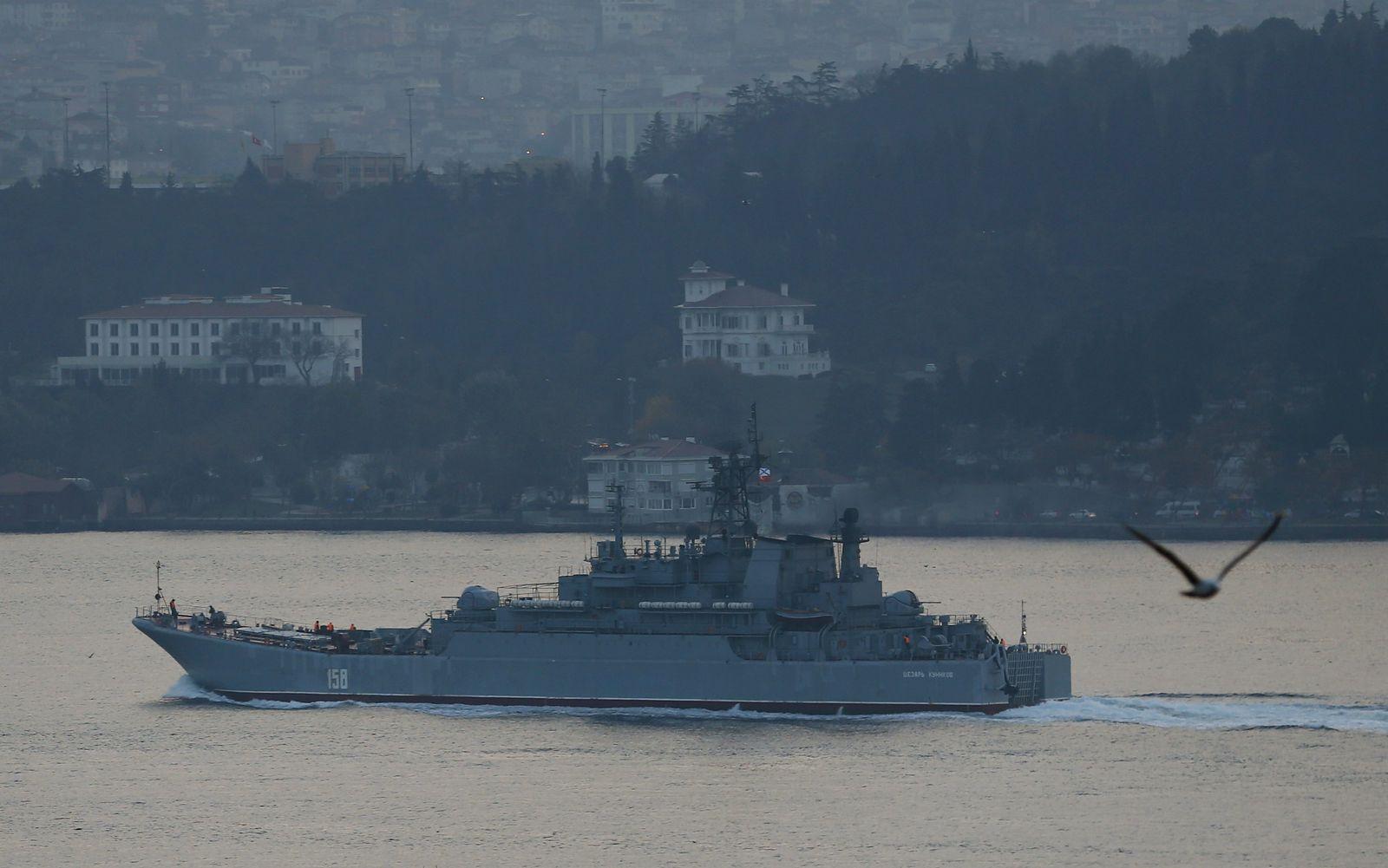 russland schiff