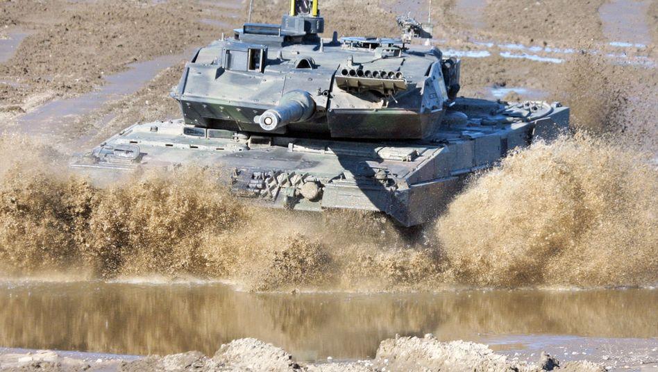 Leopard 2: Umstrittene Waffenexporte nach Saudi-Arabien