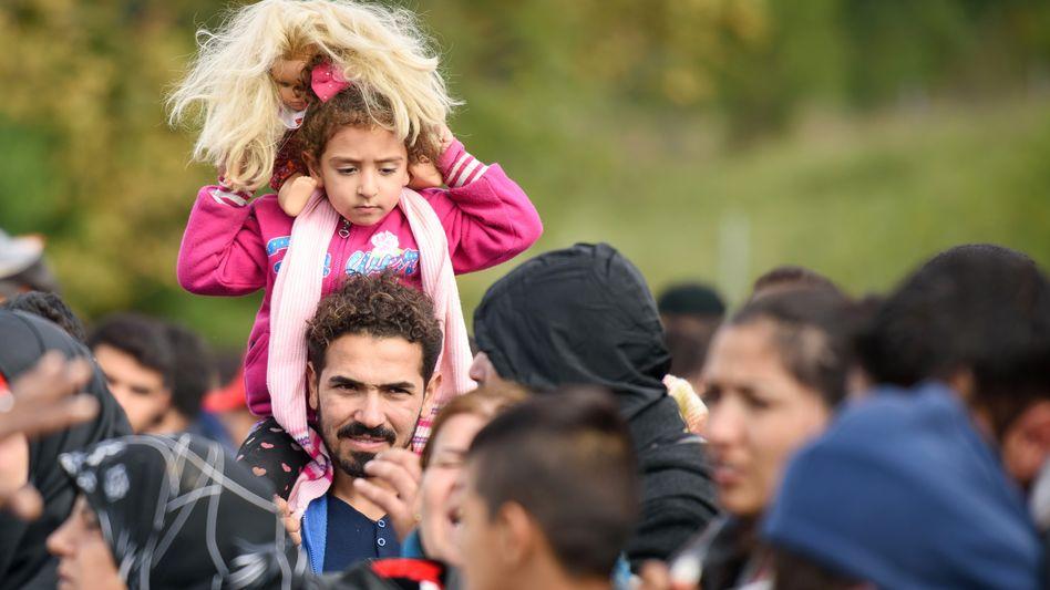 Flüchtlinge auf der slowenisch-österreichischen Grenze: Chancen erkennen
