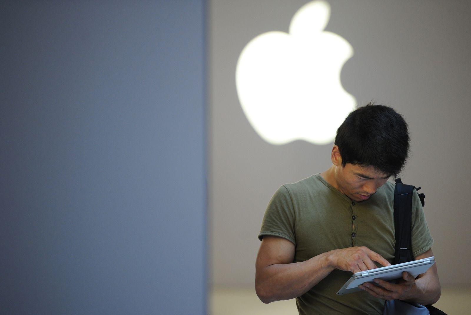 CHINA-US-LABOUR-RIGHTS-INTERNET-TELECOM-APPLE Apple