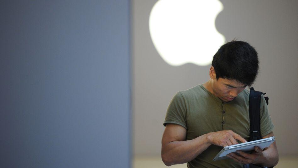"""iPad-Nutzer in Shanghai: """"Alles ist bereits vergangene Woche geschehen"""""""