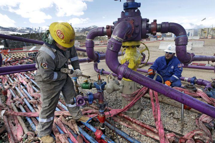 Fracking-Anlage in Colorado: Aus für jedes zweite Unternehmen?