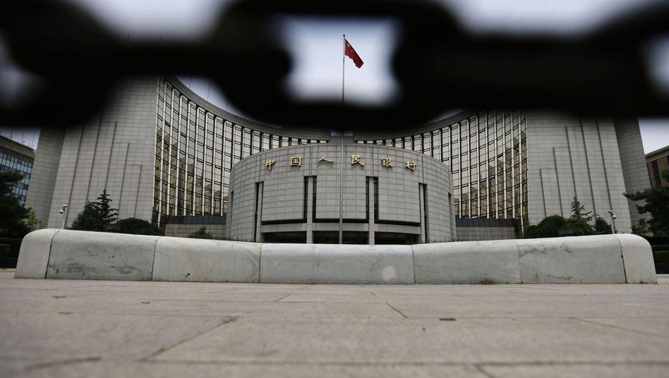 Zentralbank in Peking: Kein Geld für Branchen mit Überkapazitäten mehr