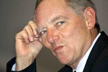 CDU-Politiker Schäuble