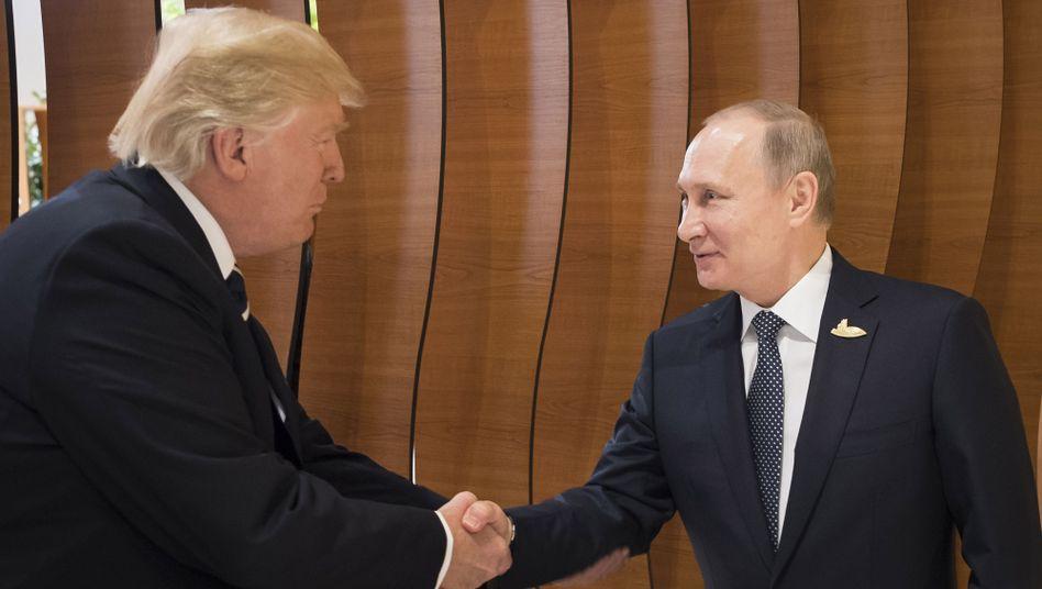Donald Trump und Wladimir Putin (Archivbild)