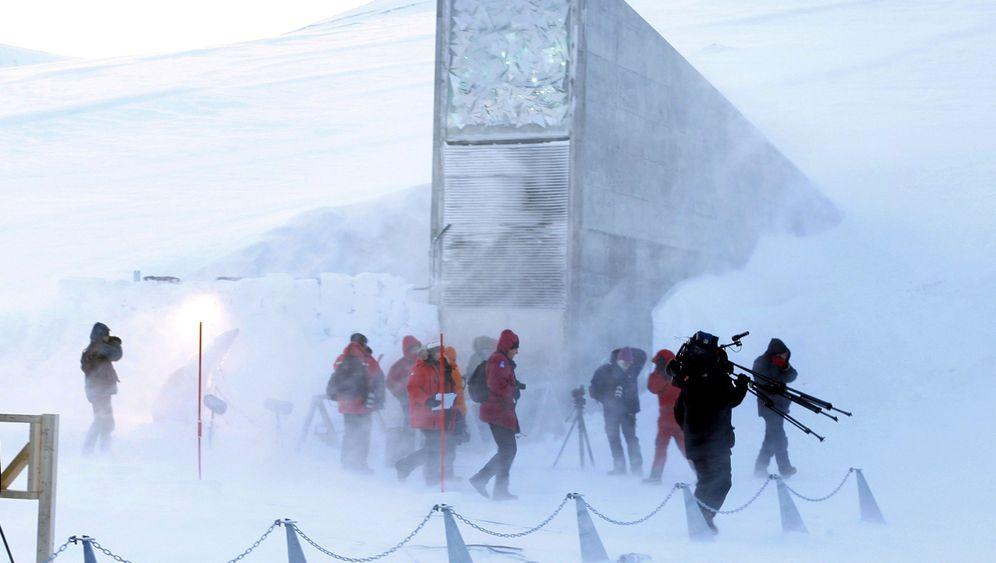 Saatgut auf Spitzbergen: Bayern-Iowa-Arktis