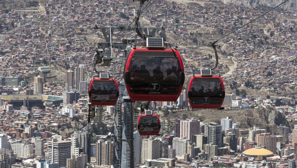 Öffentlicher Nahverkehr im bolivianischen La Paz: Die Entdeckung der dritten Dimension