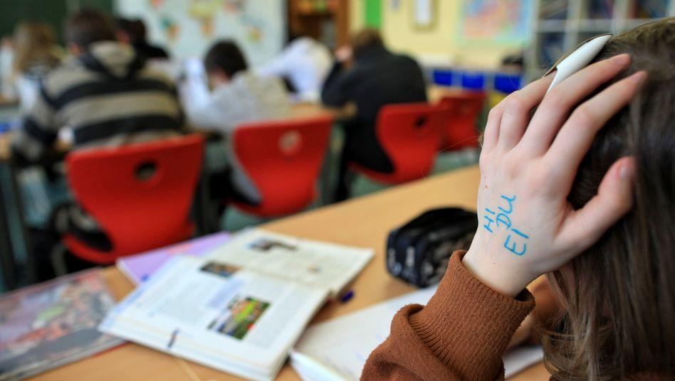 Schulklasse (Symbolbild): Sächsische Schüler klagten gegen Russischzwang