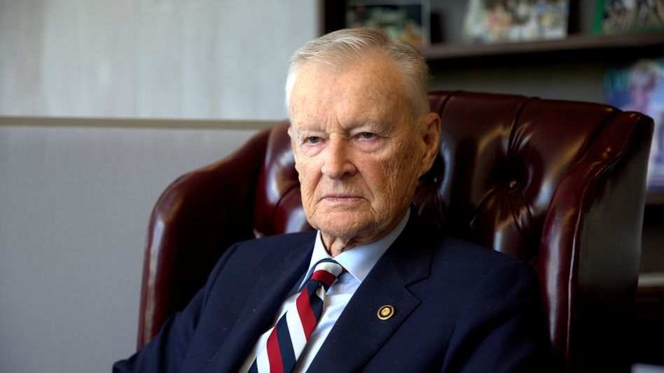 """Former US National Security Advisor Zbigniew Brzezinski: """"Things move much more rapidly."""""""