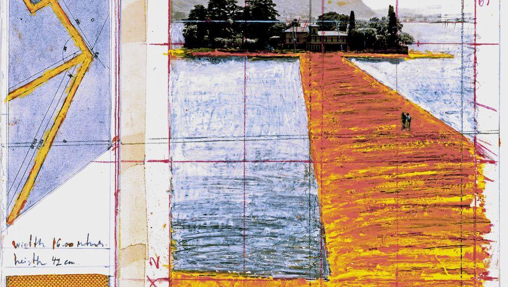 """""""Floating Piers"""": Nylonteppich für den Iseosee"""