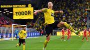 Haaland trifft doppelt – Dortmund begeistert gegen Union Berlin
