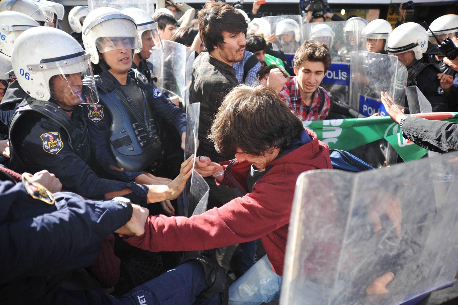 Türkei Ankara Proteste