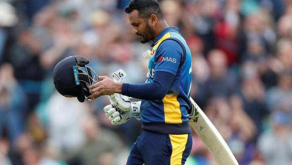 Sri Lankas Kapitän Dimuth Karunaratne wird nicht zu den Spielen nach Pakistan reisen