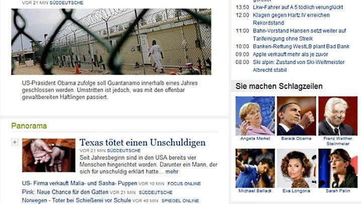 Nachrichten.de: Hübsch, aber auch nicht clever