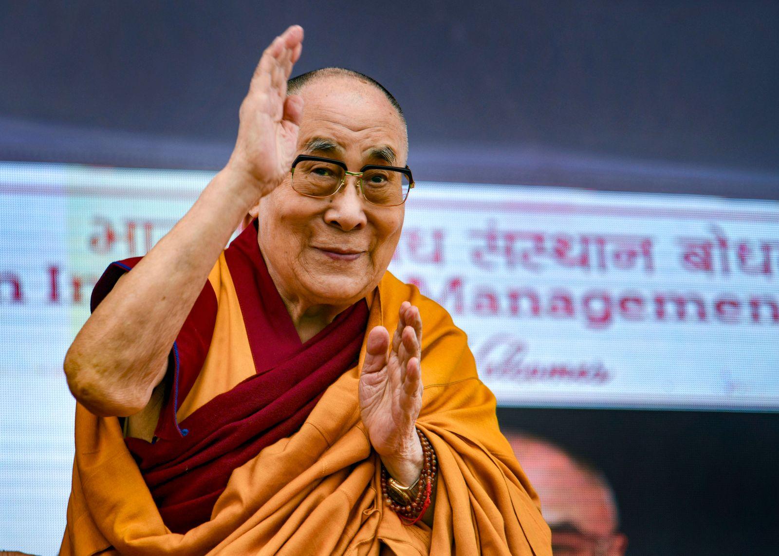 Der Dalai Lama wird 85